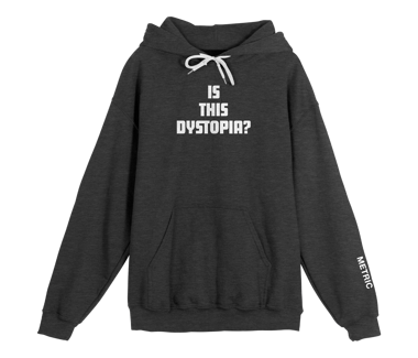 Dystopia Pullover Hoodie Limited Edition