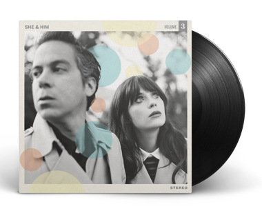 "SHE & HIM Volume Three 12"" Vinyl (Black)"