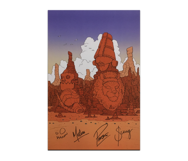 Moebius Poster (SIGNED)