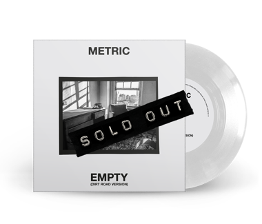 "Empty (Dirt Road Version)  Cover Photo #1 - Chair  Limited Edition 7"" Vinyl (White)"