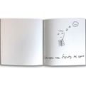 Empty Notebook Signed by Emily Haines & Colored Pencil Set Limited Edition