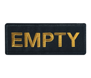 Empty Patch Limited Edition