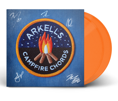 Campfire Chords Double Vinyl - SIGNED (Orange)
