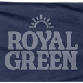 Royal Green Beach Towel