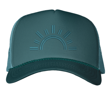 Royal Green Trucker Hat