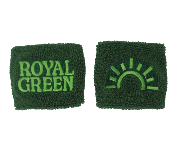 Royal Green Wristband Set