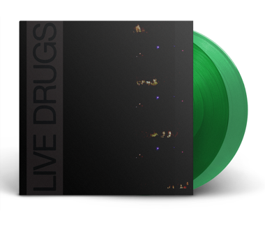 "LIVE DRUGS  2nd Pressing 2x12"" Vinyl (Transparent Green)"