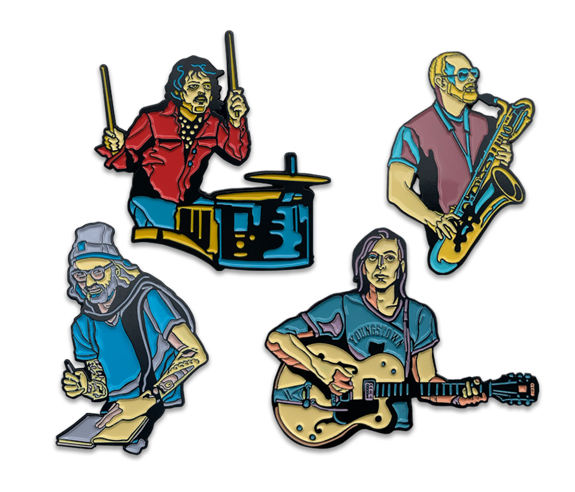 Band Member Pin Set