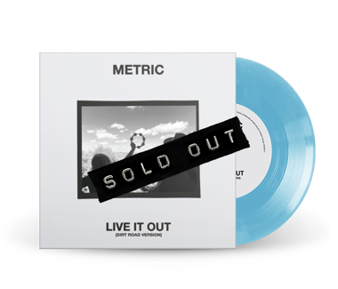 "Live It Out (Dirt Road Version) Limited Edition 7"" Vinyl (Baby Blue)"