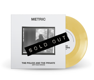 "The Police and The Private (Dirt Road Version) Limited Edition 7"" Vinyl (Custard)"