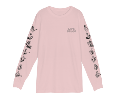 LIVE DRUGS Longsleeve