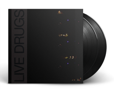 "LIVE DRUGS 2x12"" Vinyl (Black)"