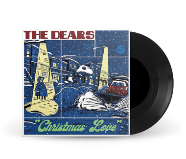 "Christmas Love 7"" Vinyl (Black)"