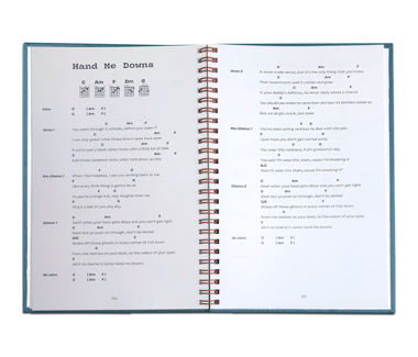 Campfire Chords Song Book