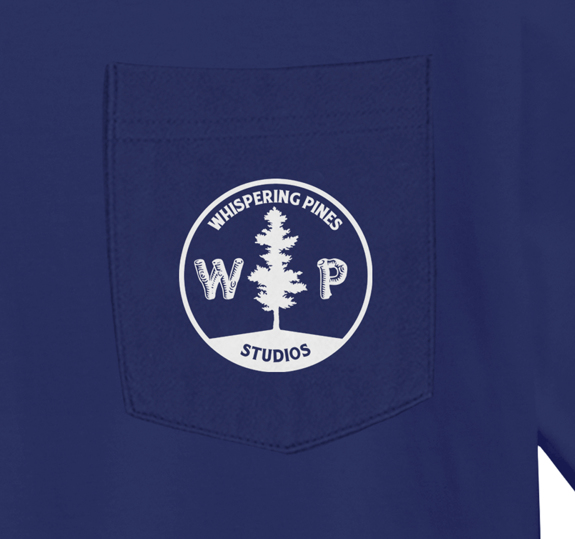 Whispering Pines Pocket T-Shirt