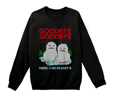 Goodbye Goodbye holiday sweater