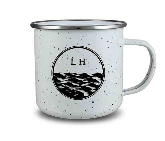 Lake Enamel Mug