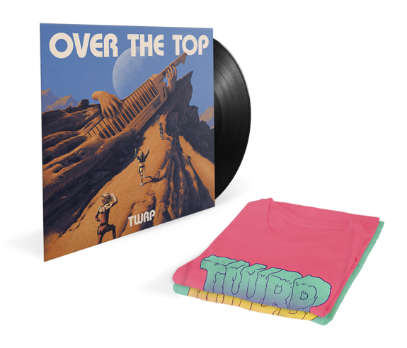 Over The Top Vinyl + Longsleeve Bundle