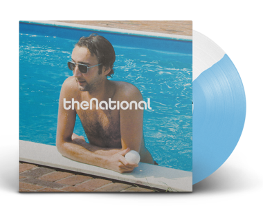 "The National - Reissue/Remastered  Cherry Tree Exclusive 12"" Vinyl (Blue/White Split)"