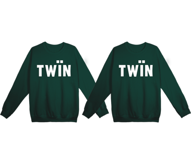 2 x twïn sweatshirt bundle