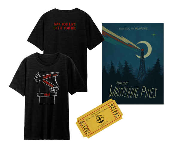T-Shirt +  Poster + Episode 2 Ticket February 18th