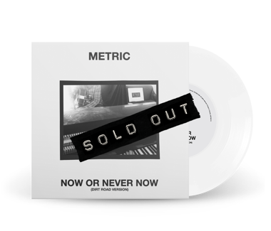 "Now Or Never Now (Dirt Road Version) Limited Edition 7"" Vinyl (White)"