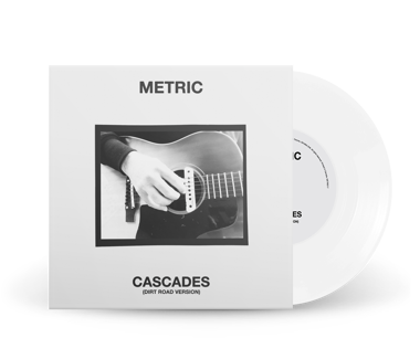 "Cascades (Dirt Road Version) Limited Edition 7"" Vinyl (White)"