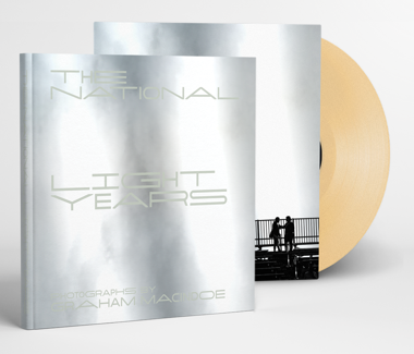 Light Years Book - Light Brown Vinyl  Cherry Tree Exclusive