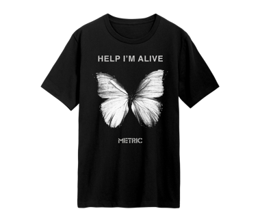 Help I'm Alive Butterfly T-ShirtLimited Edition