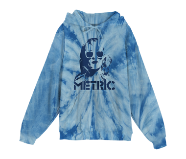 Emily Face Tie Dye Pullover HoodieLimited Edition