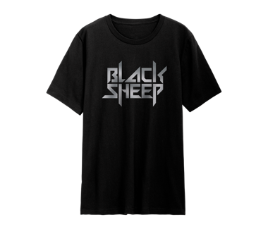 Black Sheep Silver Foil T-Shirt Limited Edition
