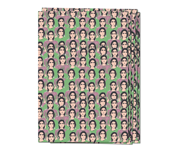 Love You To Death Wrapping Paper