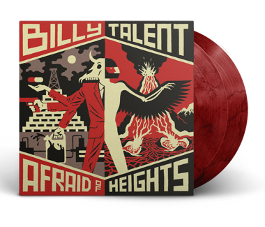 "Afraid of Heights 2x12"" Vinyl (Bloody Mary)"