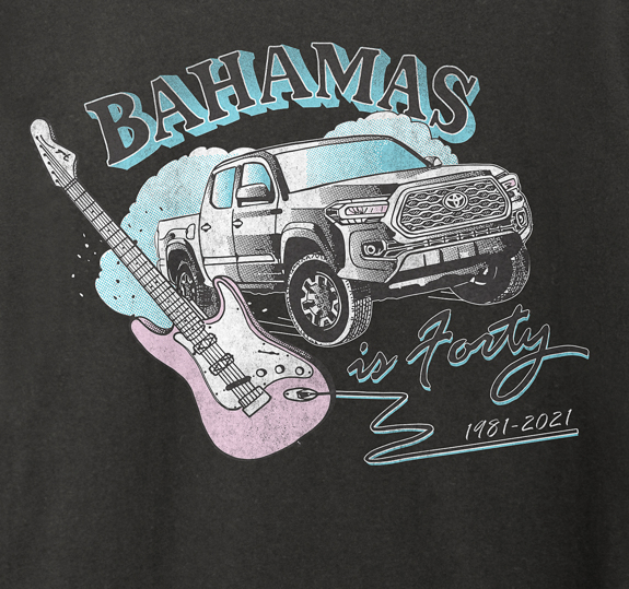 Bahamas is 40 T-Shirt