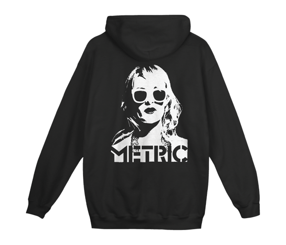 Emily Face Zip Hoodie Limited Edition